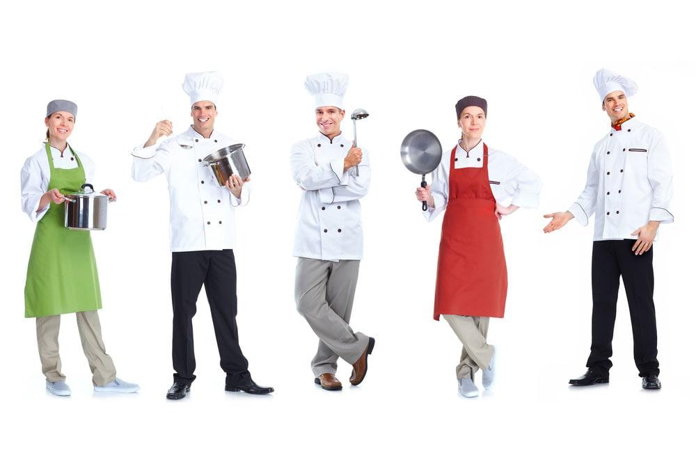 Στολή σεφ: τα ρούχα του μάγειρα κάνουν τον επαγγελματία