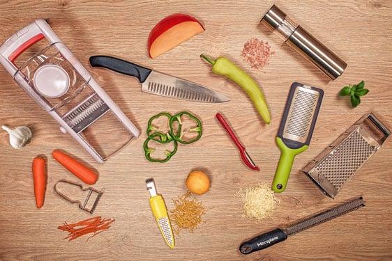 Ψιλοκομμένο, σε φέτες ή τριμμένο; Υπάρχουν κοπτικά εργαλεία για όλα